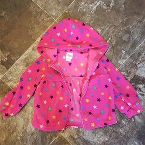 Cute light weight fleece jacket